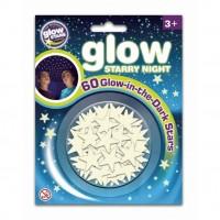 Set 60 stele fosforescente The Original Glowstars Company, 3 ani +