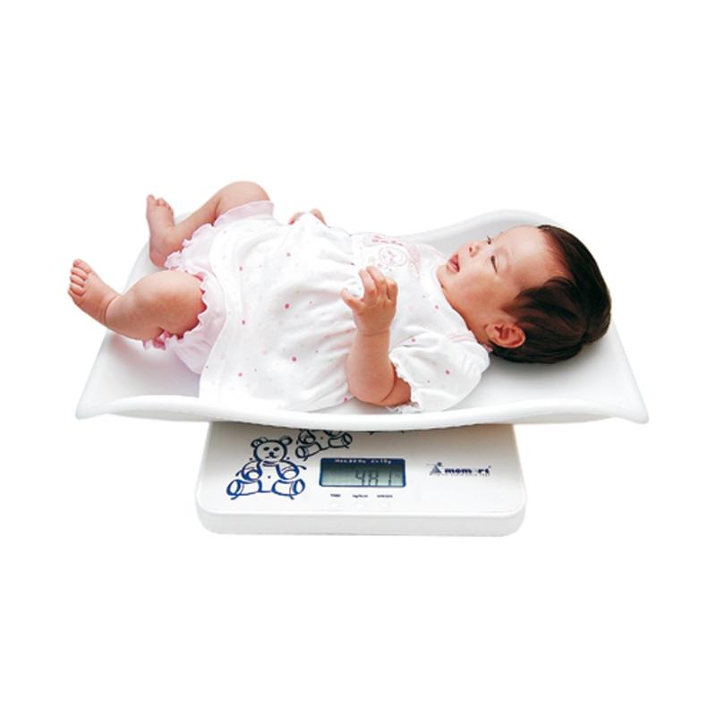 Cantar digital bebelusi Momert, 20 kg, LCD