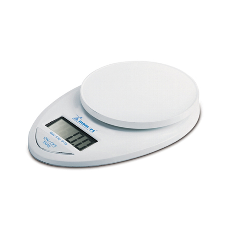 Cantar de bucatarie Momert, 5 kg, LCD, Alb 2021 shopu.ro