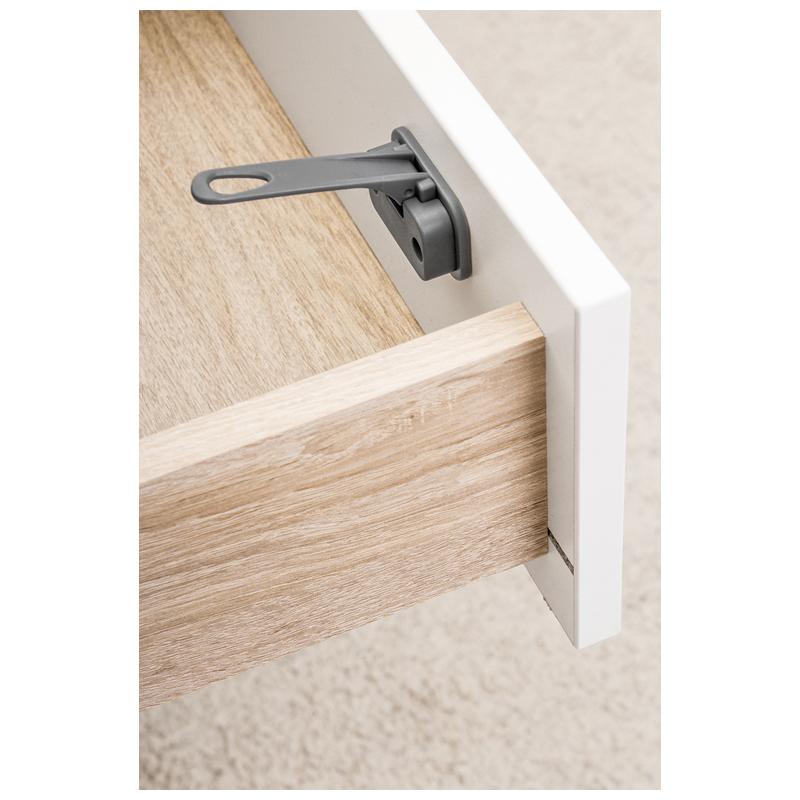 Siguranta pentru sertare/dulapuri DesignLine Reer, Gri