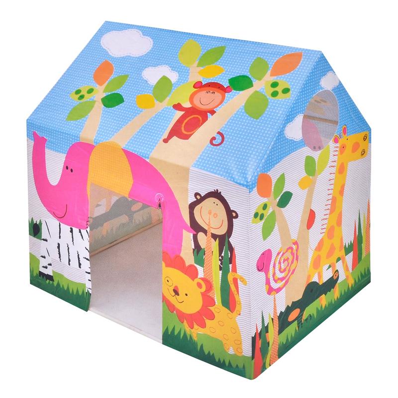 Cort pentru copii Intex, 95 x 75 x 107 cm, model animale 2021 shopu.ro