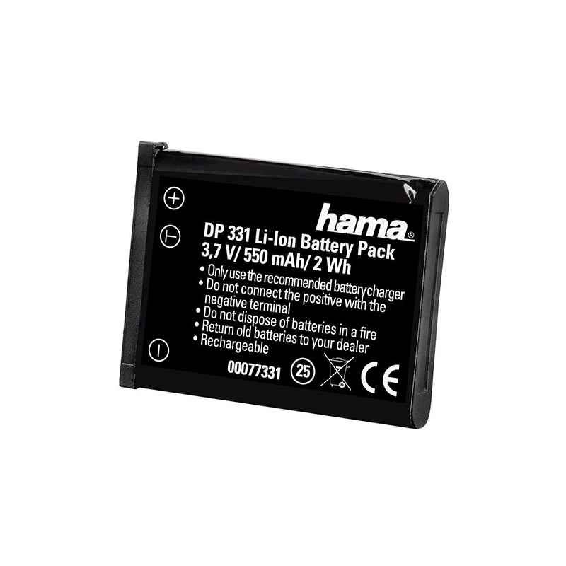 Acumulator DP 331 Li-Ion Hama pentru Nikon EN-EL10, 600 mAh 2021 shopu.ro