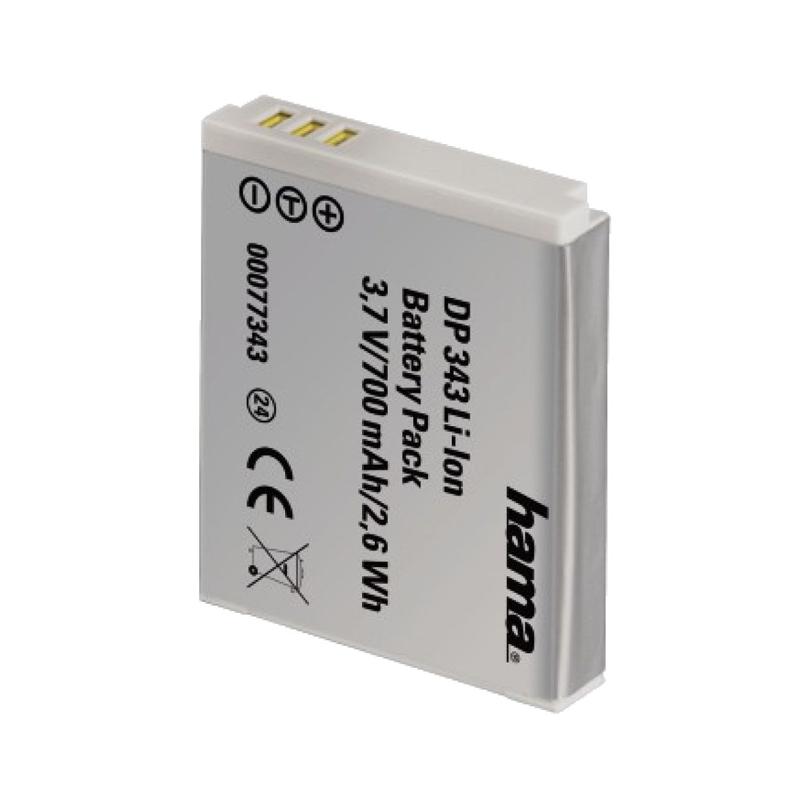 Acumulator DP 343 Li-Ion Hama pentru Canon NB-6L, 700 mAh 2021 shopu.ro