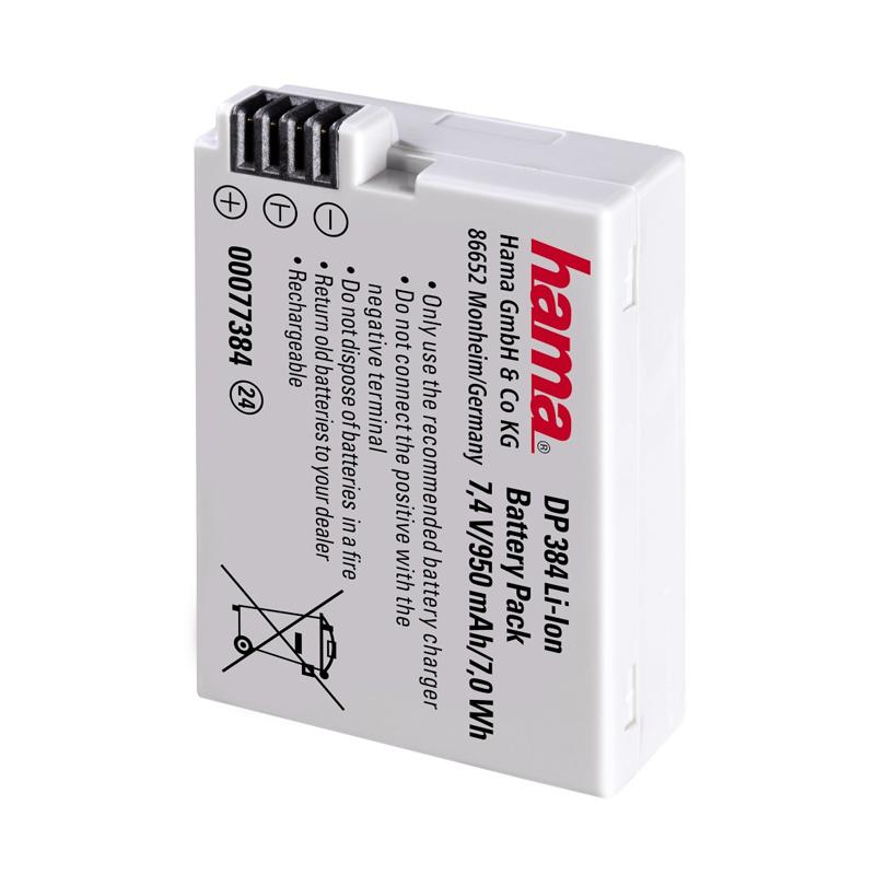 Baterie DP 384 Li-Ion Hama pentru Canon LP-E8 2021 shopu.ro