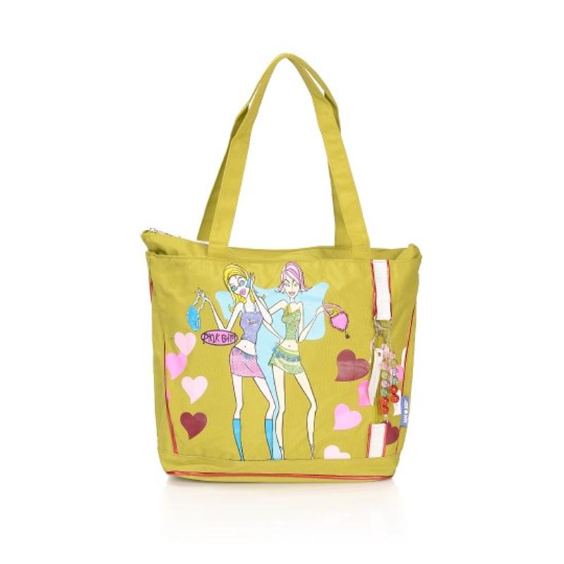 Geanta Fashion Pink Girl A11495 Lamonza, Verde 2021 shopu.ro