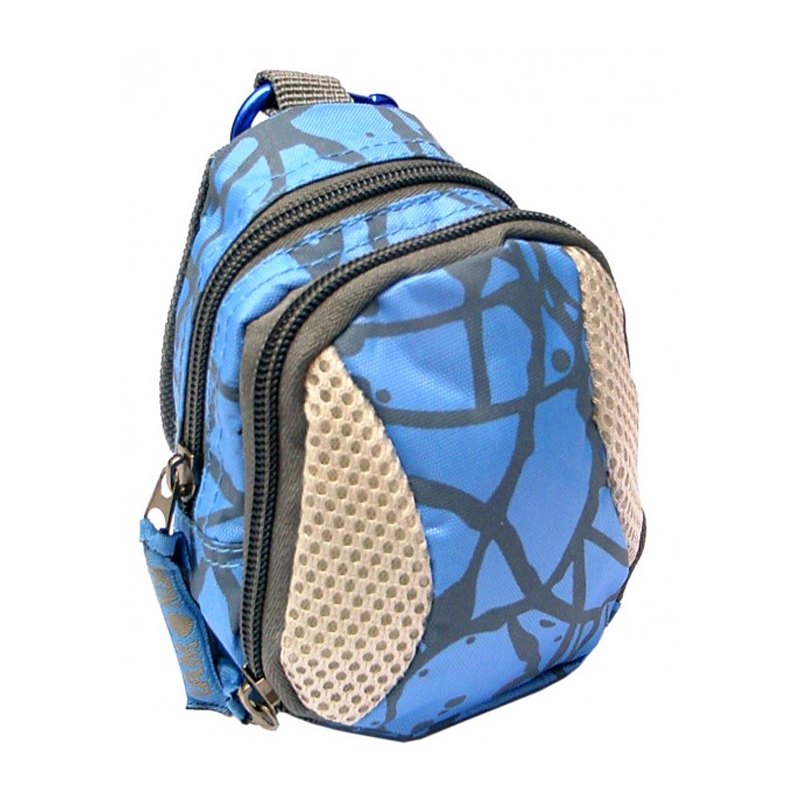 Mini rucsac Lamonza, 10 x 7 x 14 cm, 2 buzunare, Albastru 2021 shopu.ro