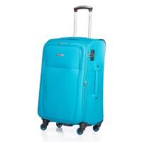 Troler Uni Lamonza, 77 cm, Turquoise