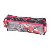 Penar cilindric Spiderman Lamonza, Rosu/Gri