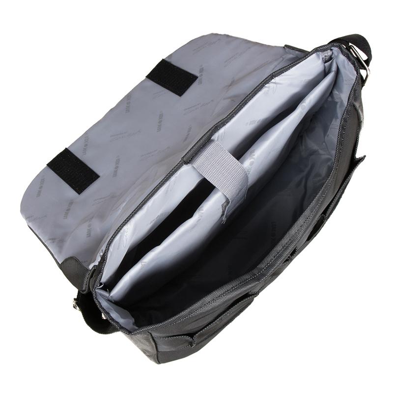 Geanta laptop Glamour Lamonza, 39 cm, Negru