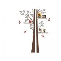 Sticker copac cu rafturi Maxtar, 150 x 110 cm