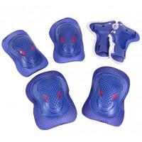 Set protectii coate genunchi si brate Maxtar, Albastru