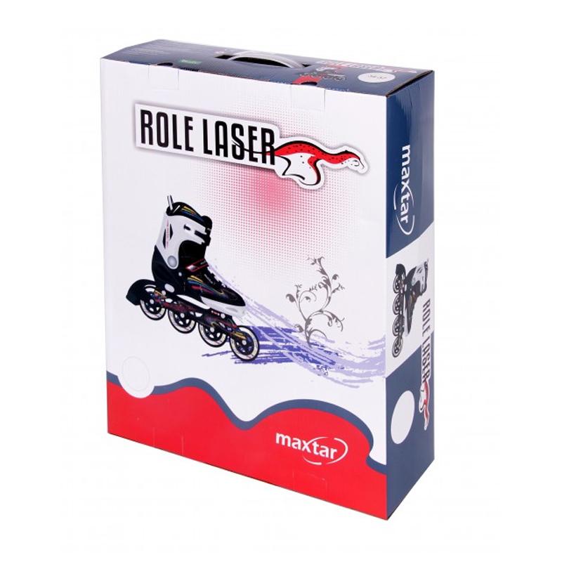 Role laser Maxtar, reglabile, marimea 30-33