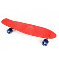 Skateboard Lightning Maxtar, 71 cm, Rosu