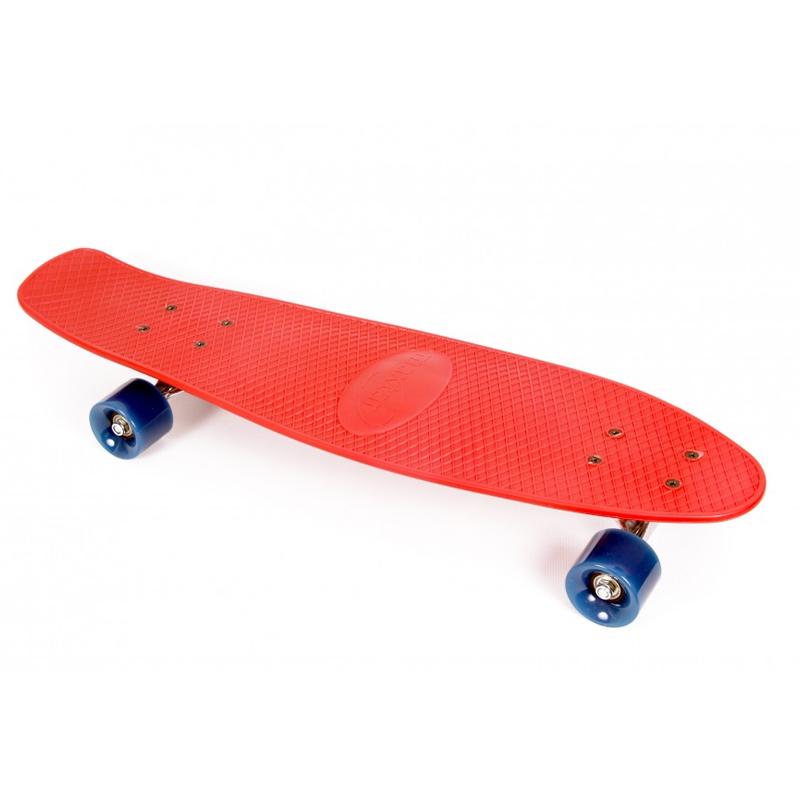 Skateboard Lightning Maxtar, 71 cm, Rosu 2021 shopu.ro