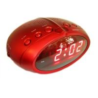 Ceas digital cu radio ACR-391, LED, Rosu
