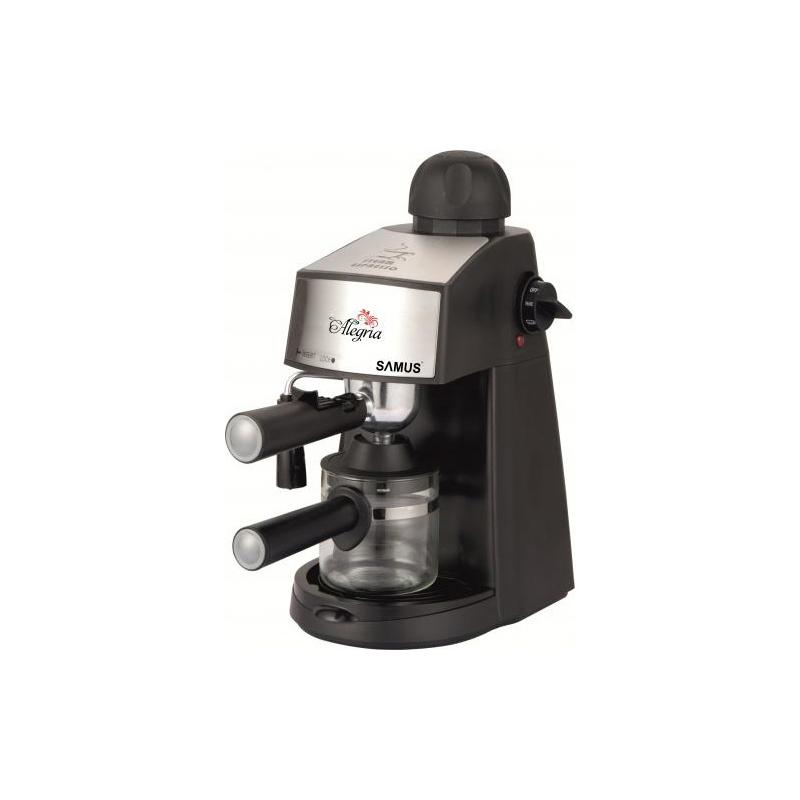Espressor de cafea Alegria Samus, 3.5 bari, 800 W, Negru 2021 shopu.ro