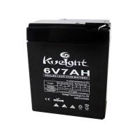 Acumulator plumb acid Powertech, 6 V, 7 Ah