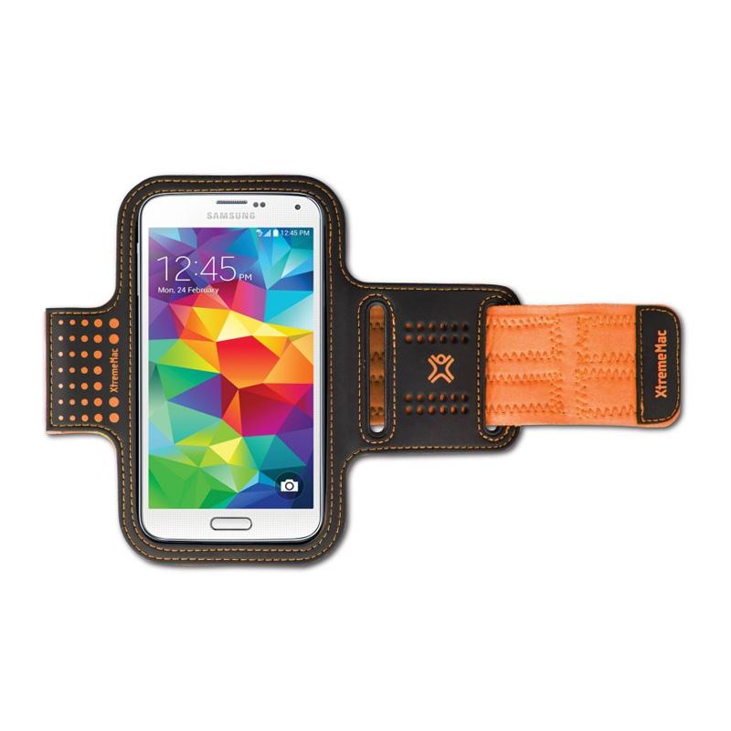 Husa brat pentru smartphone XtremeMax, Portocaliu 2021 shopu.ro