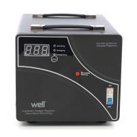 Stabilizator de tensiune cu servomotor Well, 3000 VA