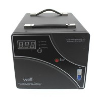 Stabilizator de tensiune cu servomotor Well, 5000 VA