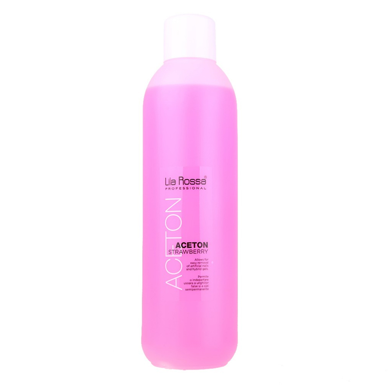 Acetona Strawberry Pink Lila Rossa, 1000 ml