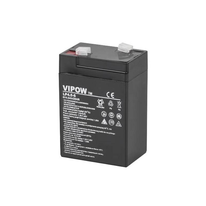 Acumulator Gel Plumb Vipow, 6V, 4.5 Ah 2021 shopu.ro