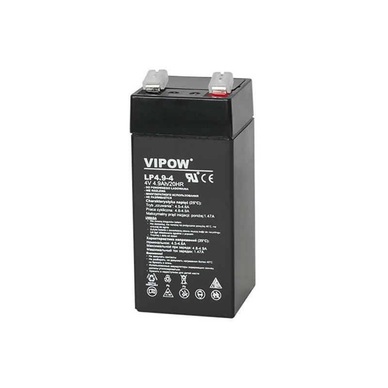 Acumulator gel plumb Vipow, 4 V, 4.9 Ah 2021 shopu.ro