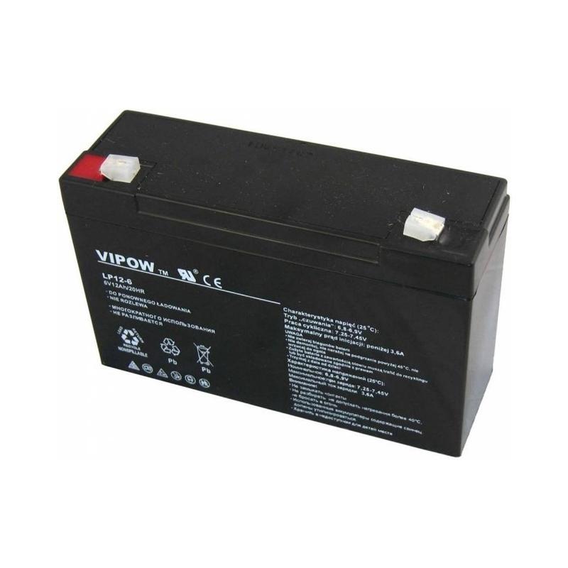 Acumulator gel plumb Vipow, 6 V, 12 Ah 2021 shopu.ro
