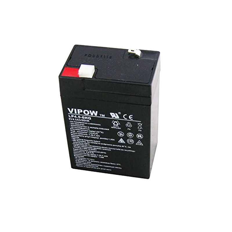 Acumulator gel plumb Vipow, 6 V, 4.5 Ah 2021 shopu.ro