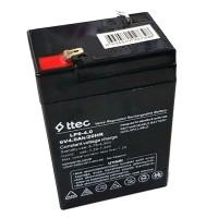 Acumulator pentru masinute electrice, 6 V, 4 Ah, complet sigilata