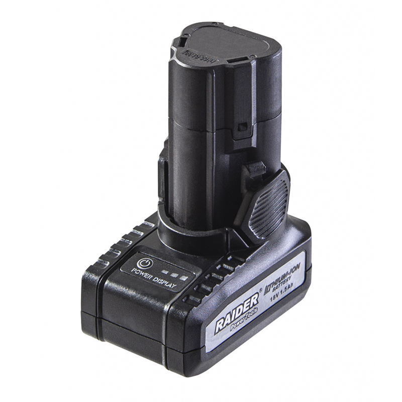 Acumulator Raider, 18 V, 1.5 Ah, Li-Ion shopu.ro