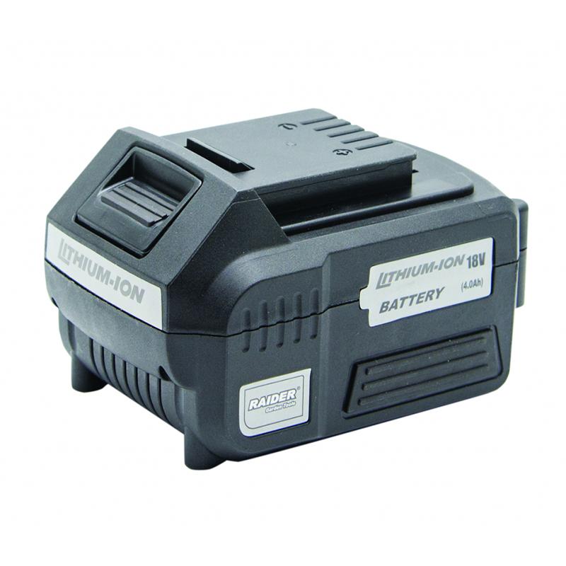 Acumulator Raider, 18 V, 4 Ah, Li-Ion shopu.ro
