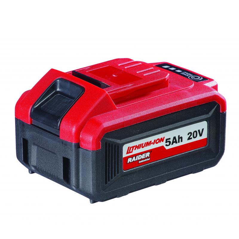 Acumulator Raider, 20 V, 5 Ah, Li-Ion, port USB shopu.ro