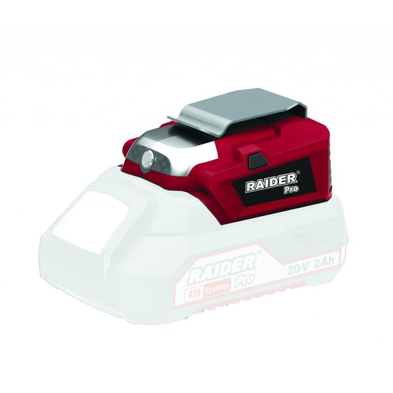 Adaptor cu lampa pentru seria R20 Raider, USB, tehnologie LED shopu.ro