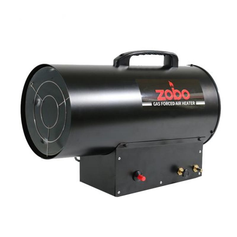 Aeroterma pe gaz Zobo, 12-30 kW, 440-600 mc/h, consum 2.18 kg/h, reductor inclus 2021 shopu.ro