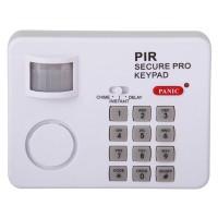 Alarma cu detector de miscare, 5 m, buton panica