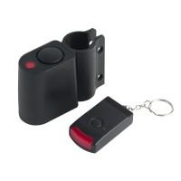 Alarma pentru  bicicleta cu telecomanda YL-121, plastic, 110 dB