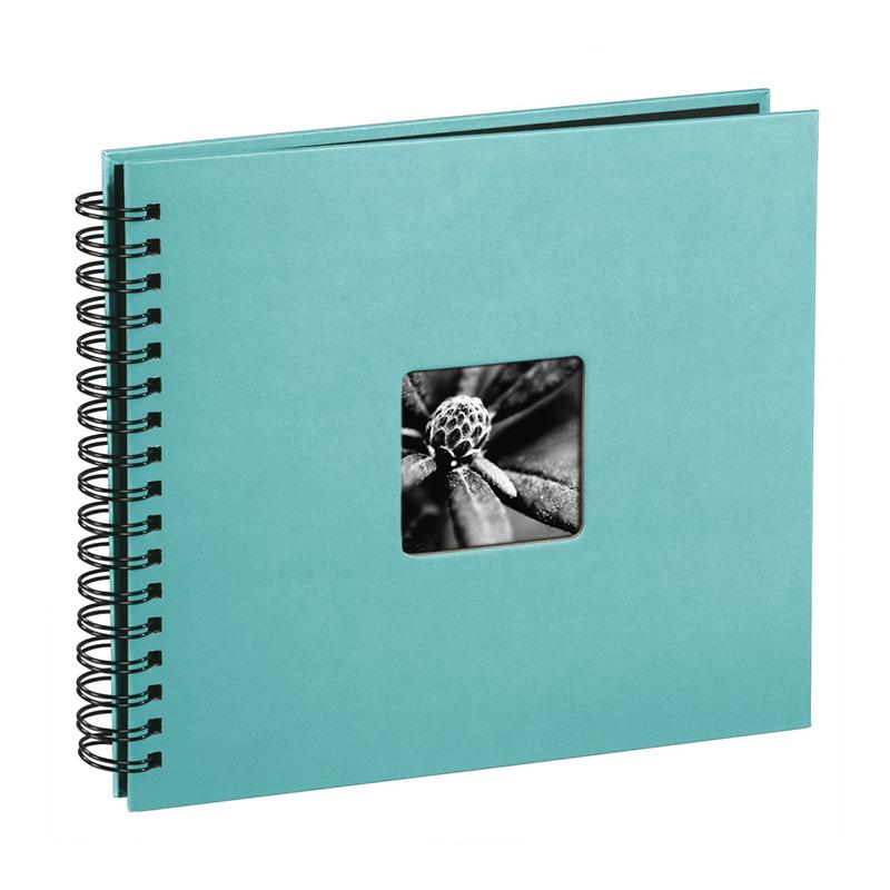 Album foto Fine Art Hama, 100 fotografii, 10 x 15 cm, 50 pagini, Turcoaz 2021 shopu.ro