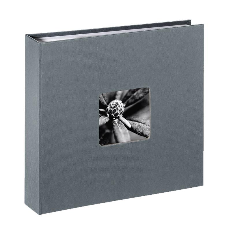 Album foto Fine Art Hama, 160 fotografii, 10 x 15 cm, 80 pagini, Gri shopu.ro