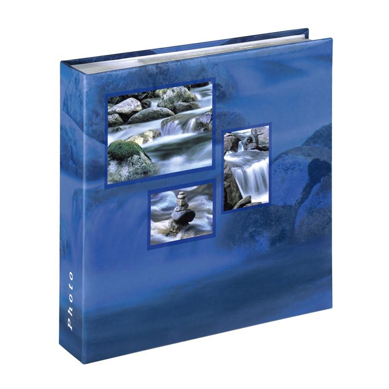 Album foto Singo Hama, 200 fotografii, 10 x 15 cm, Albastru shopu.ro