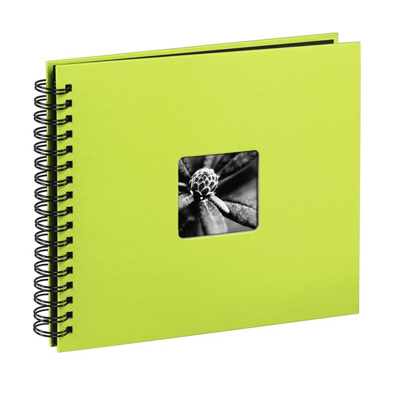 Album foto cu spirala Fine Art Hama, 100 fotografii, 10 x 15 cm, 50 pagini, Verde shopu.ro