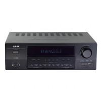 Amplificator Bluetooth 5.1 Akai, 90 W RMS, radio FM, afisaj VFD, 7 efecte, telecomanda, Negru