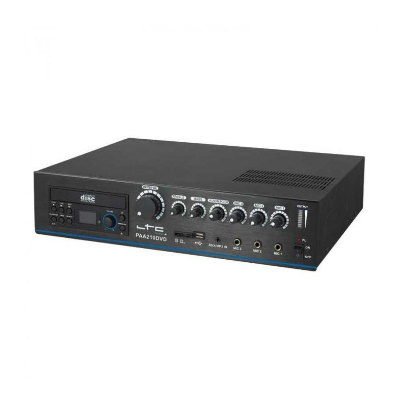 Amplificator LTC, 210 W, DVD/USB/SD/MP3 2021 shopu.ro