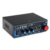Amplificator bluetooth BT-638, 2 x 100 W, 16 Ohm, telecomanda