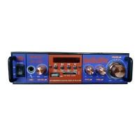 Amplificator bluetooth tip statie BT-798, 2 x 25 W, 4-16 Ohm, USB, suport SD card, telecomanda