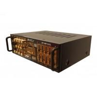 Amplificator profesional Teli, 2 x 50 W, USB, suport card SD, radio FM