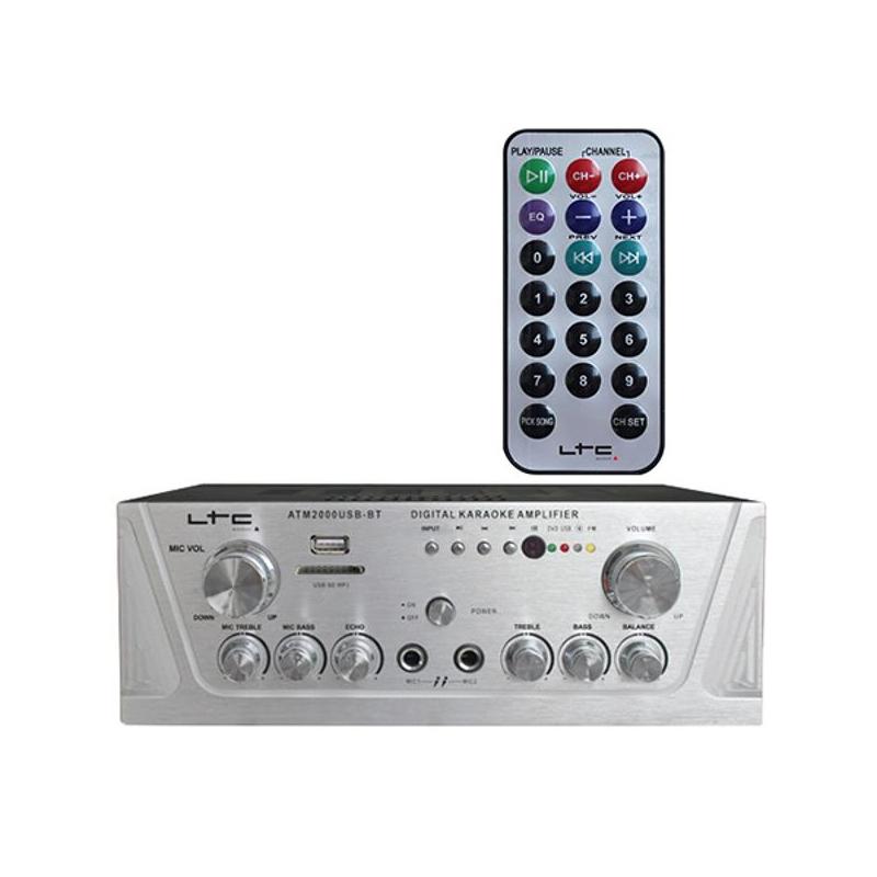 Amplificator stereo LTC, Bluetooth, USB/SD/MP3 2021 shopu.ro