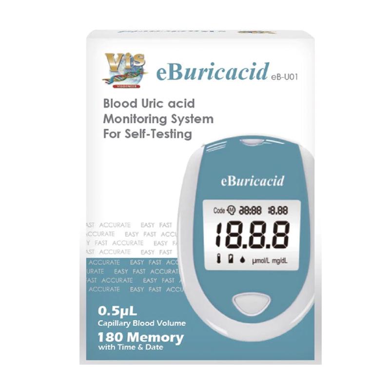 Analizator acid uric E-Buricacid, testare 5 secunde, 25 teste incluse 2021 shopu.ro