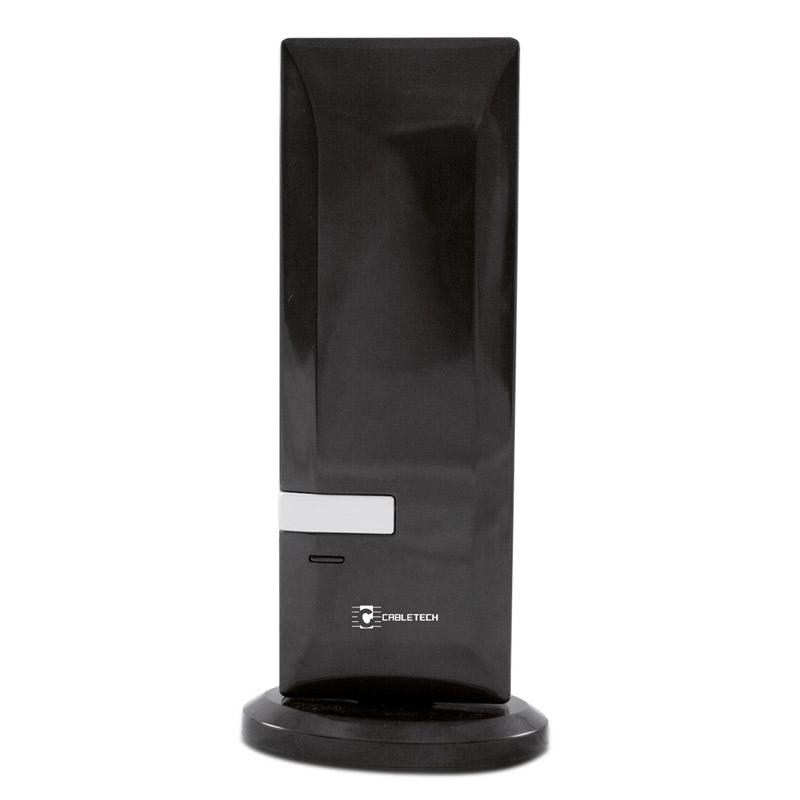 Antena DVB-T Cabletech ANT0519, tehnologie SMD, negru lucios 2021 shopu.ro
