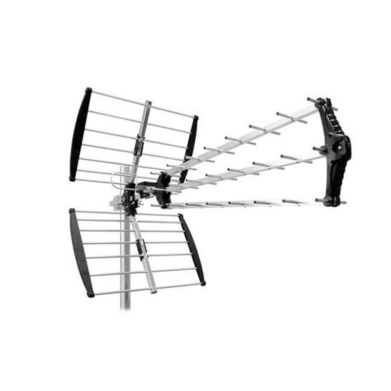 Antena DVB-T Cabletech, de exterior, activa, 27 elementi 2021 shopu.ro